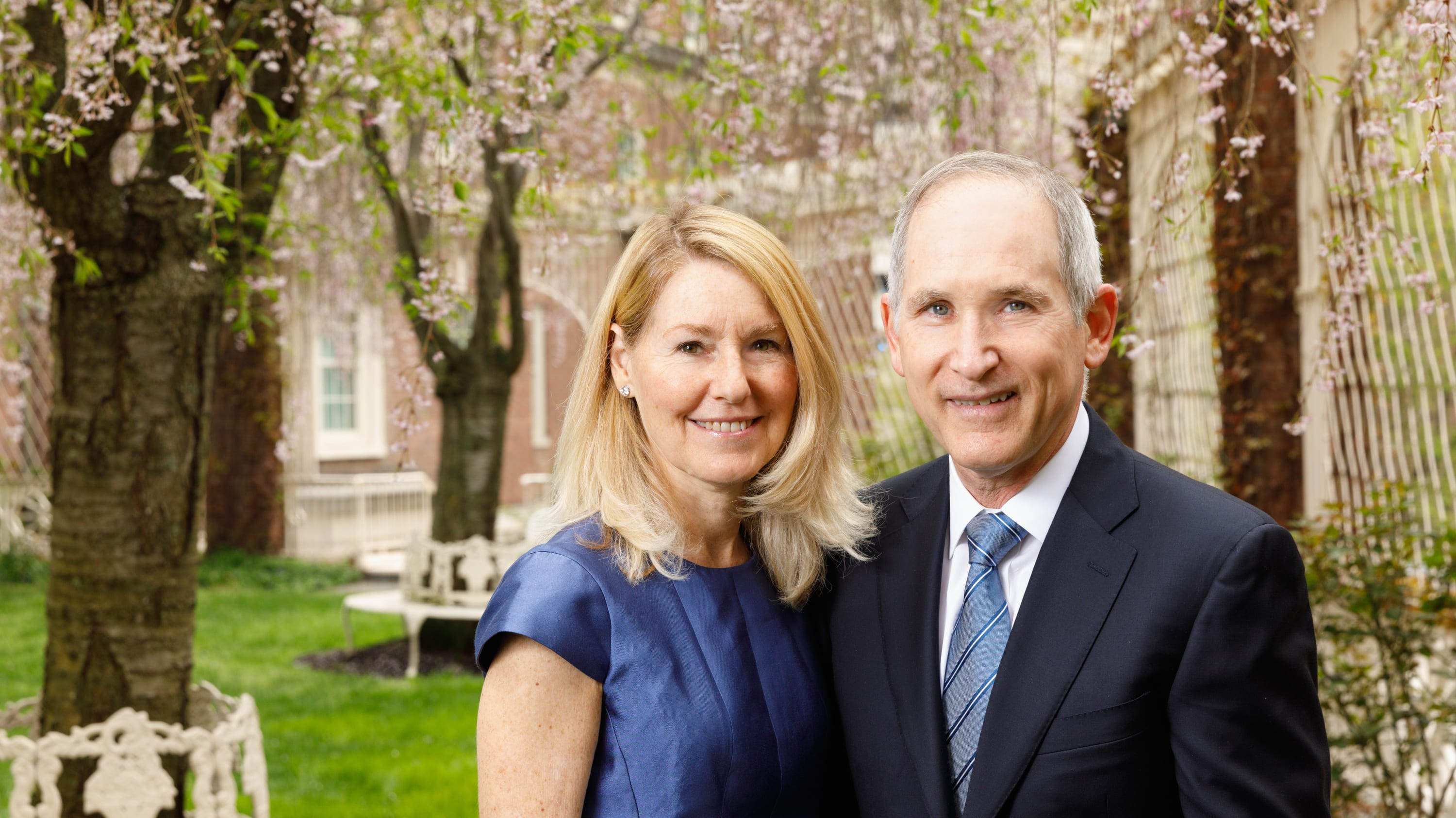 Yale Cancer Center Director Charles Fuchs, MD, (right) and his wife, Joanna Fuchs, MD, have personal reasons for taking on colon cancer.