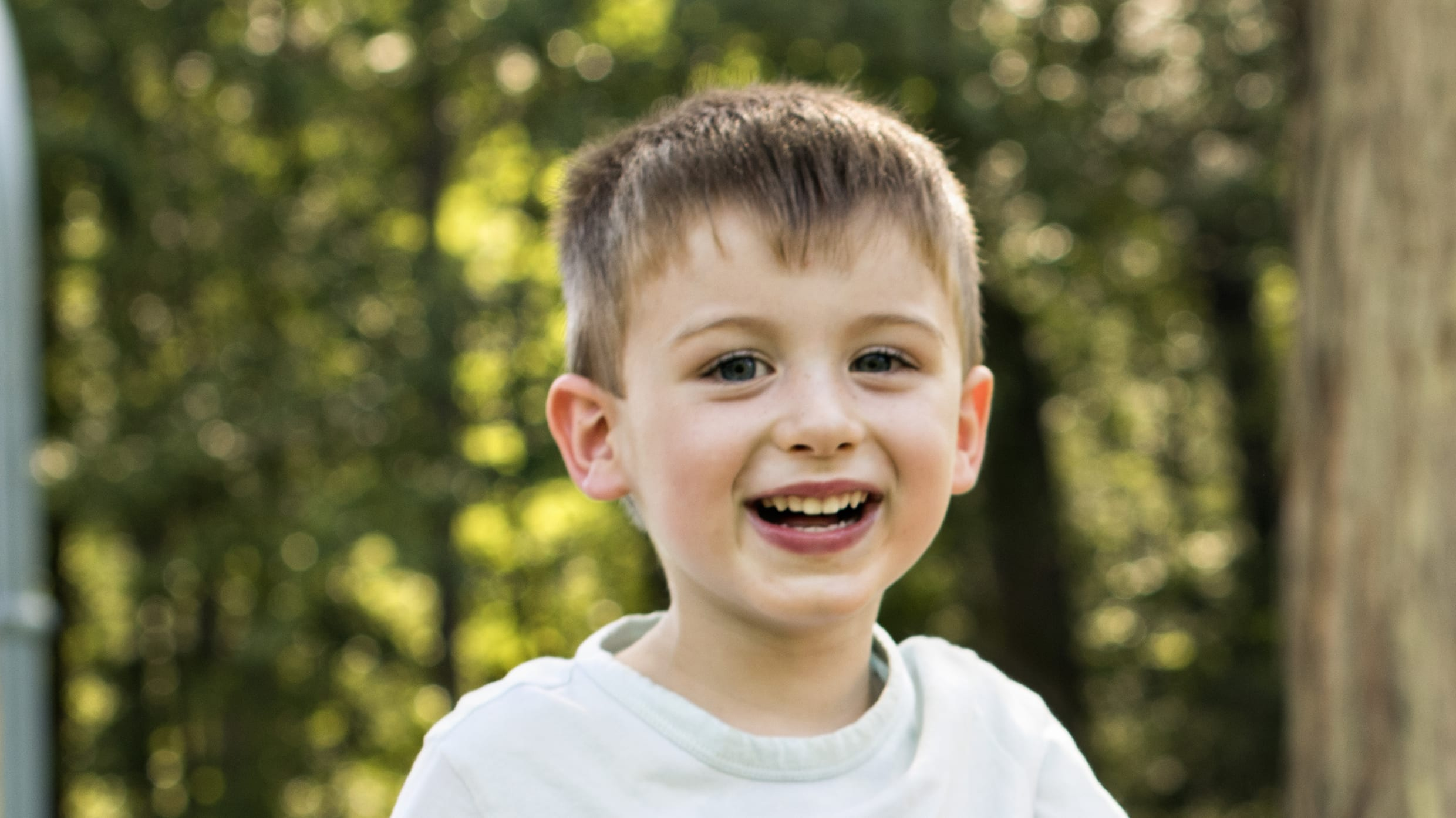 This is a picture of Zachary Bailey, a 4-year-old boy who has trouble sleeping.