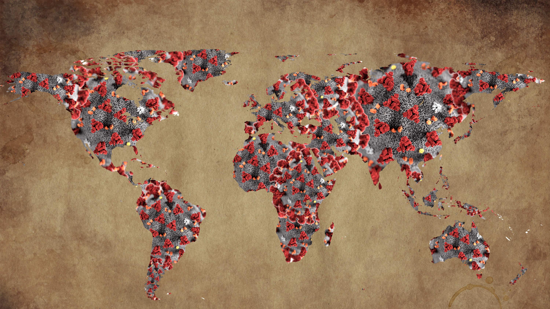 global map of coronavirus