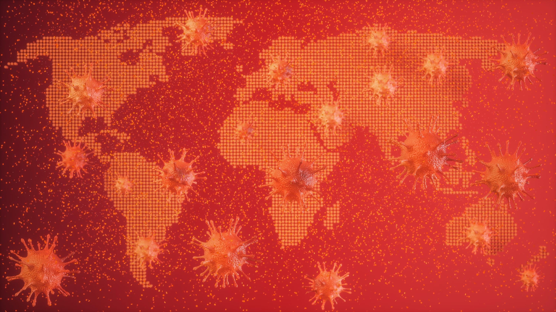 map of potential COVID-19 spread