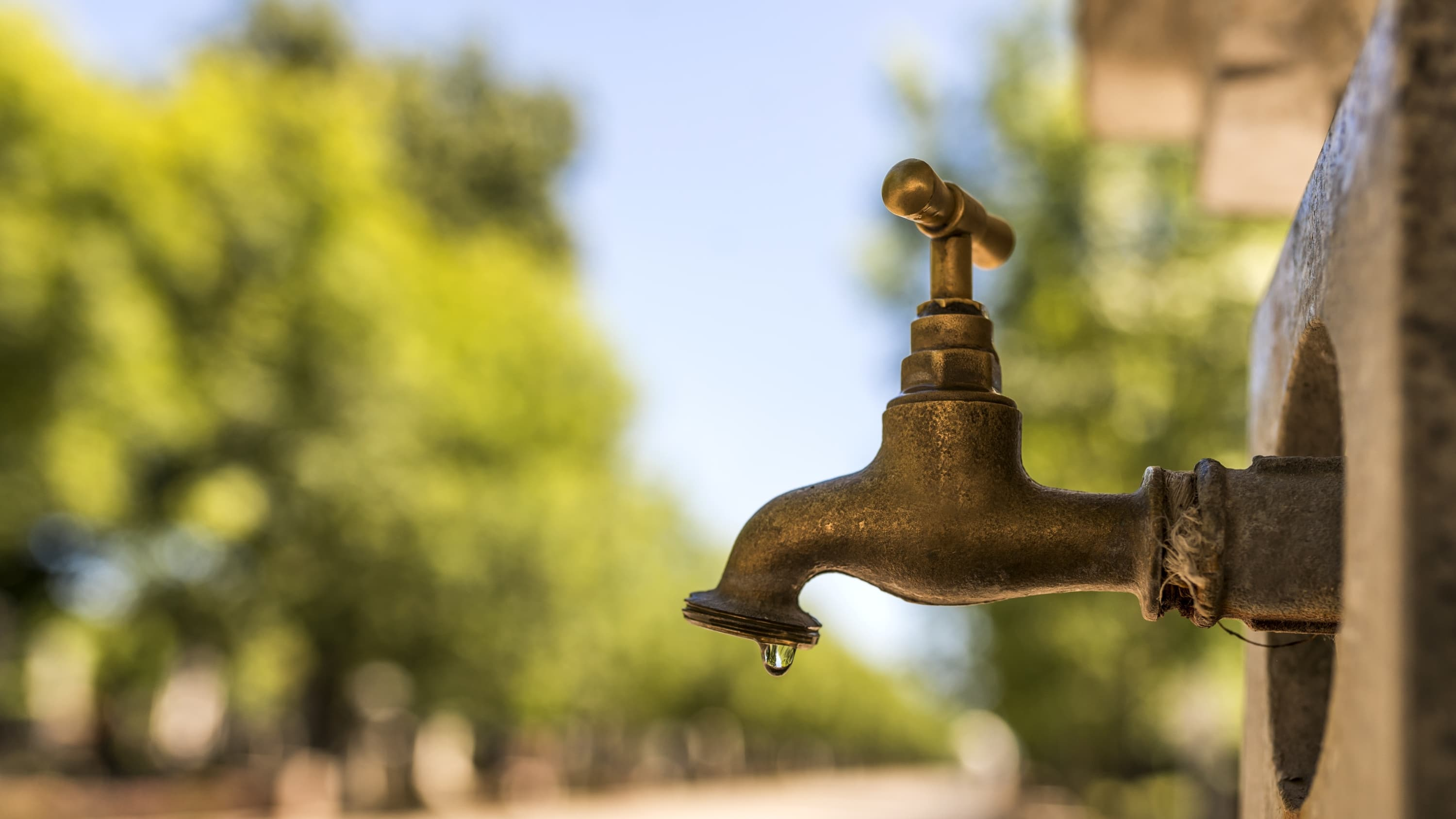 leaky faucet meant to symbolize common urination problems