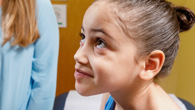 portrait of a young patient