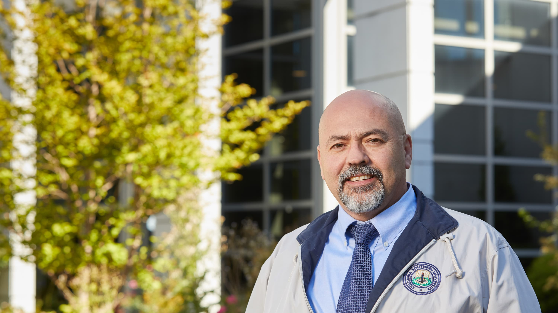 Edgar Martinez, a patient of the VA hospital in West Haven