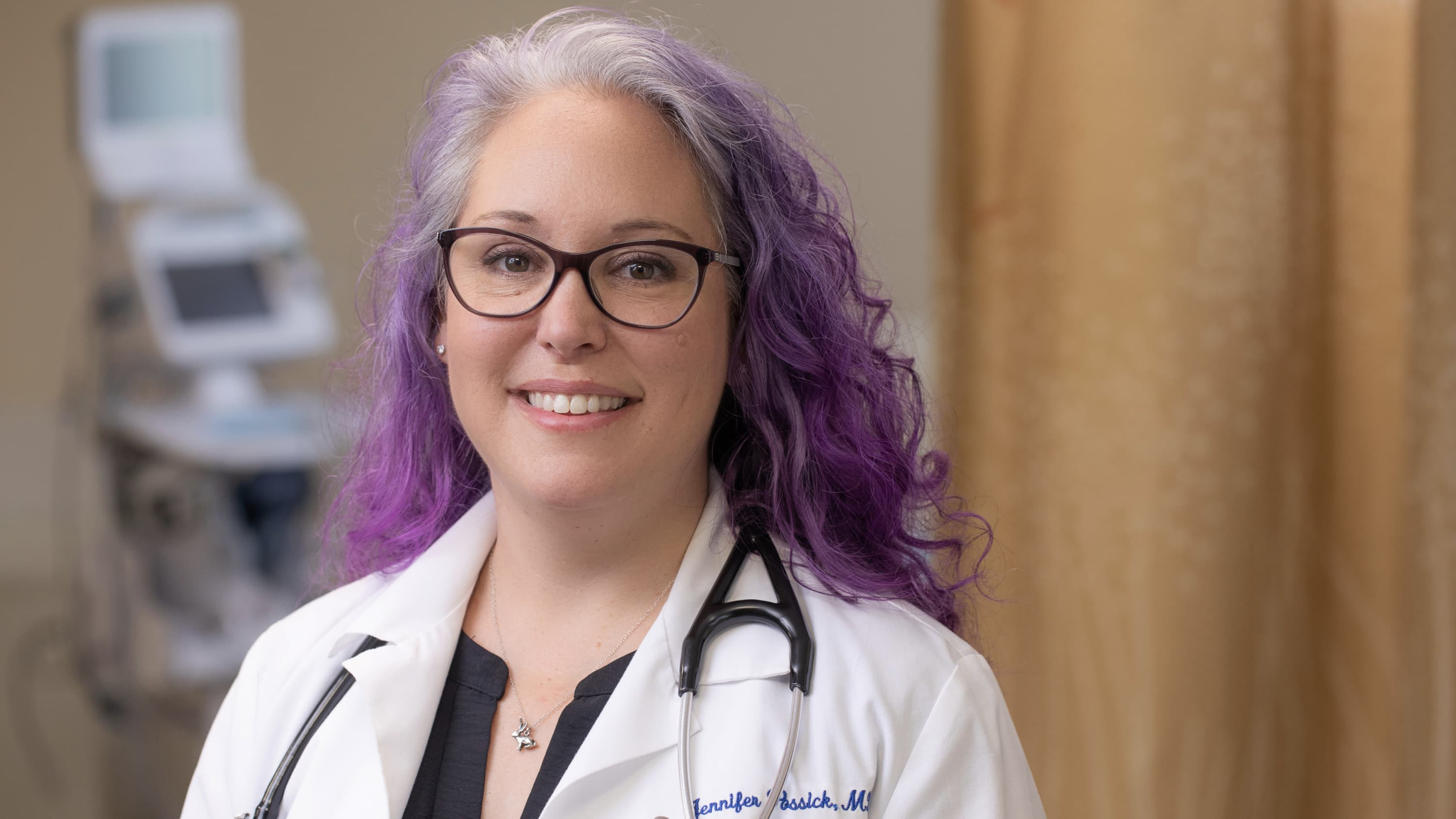 Jennifer Possick, MD, who started the first multidisciplinary post-COVID-19 recovery clinic in Connecticut