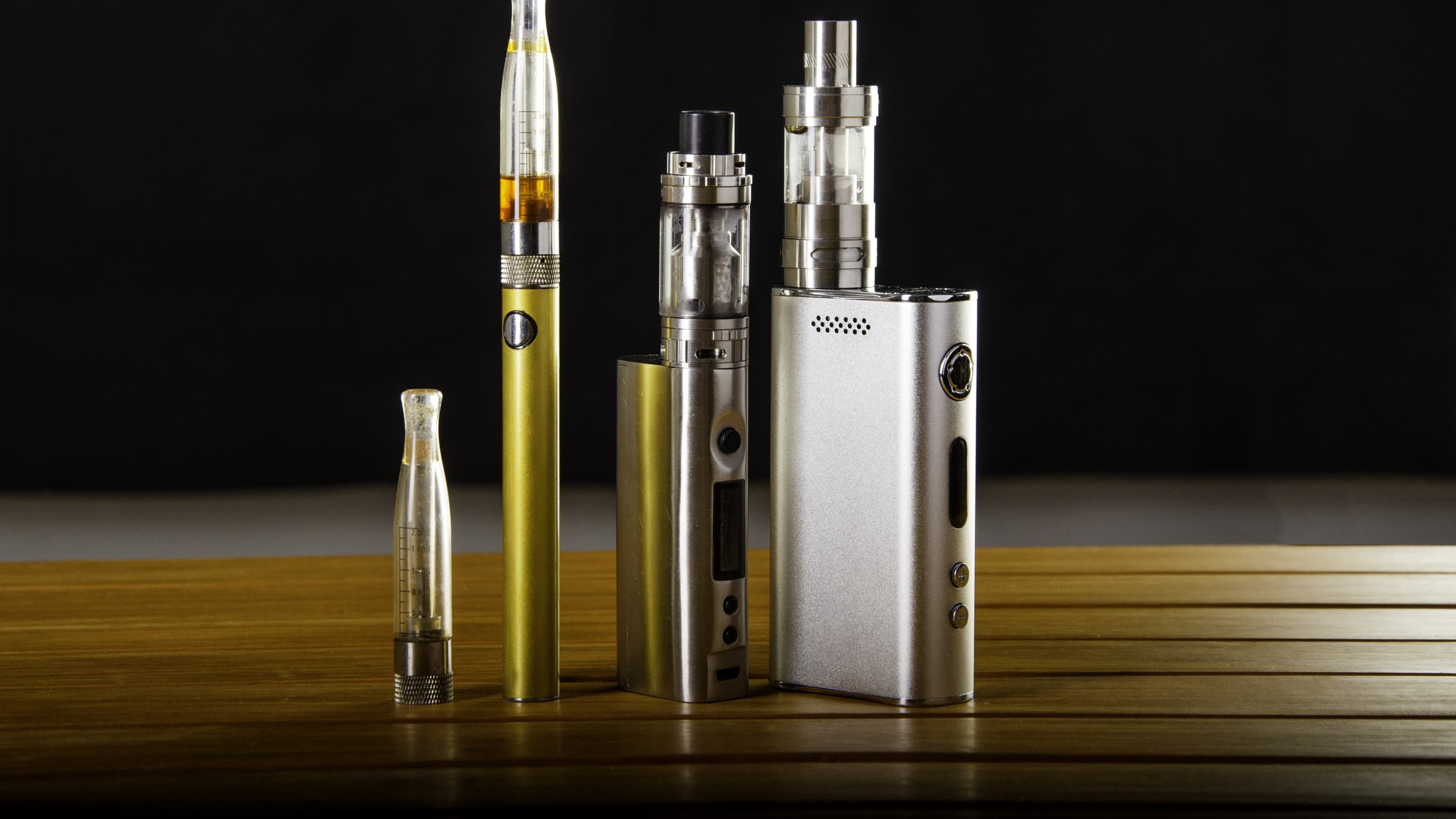vaping devices, which may lead to EVALI