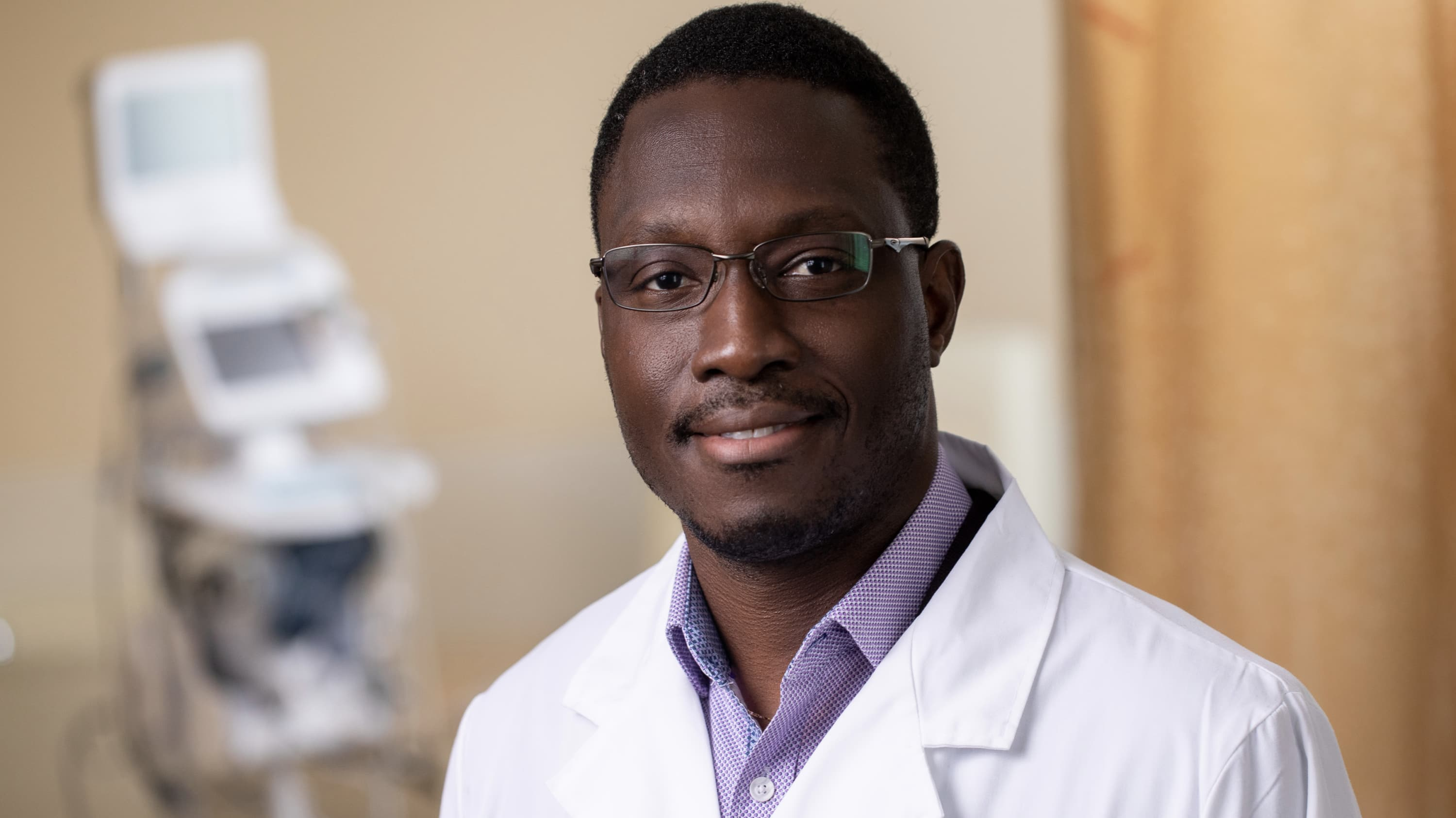Dr. Ogbuago led clinical trials to test COVID-19 vaccines