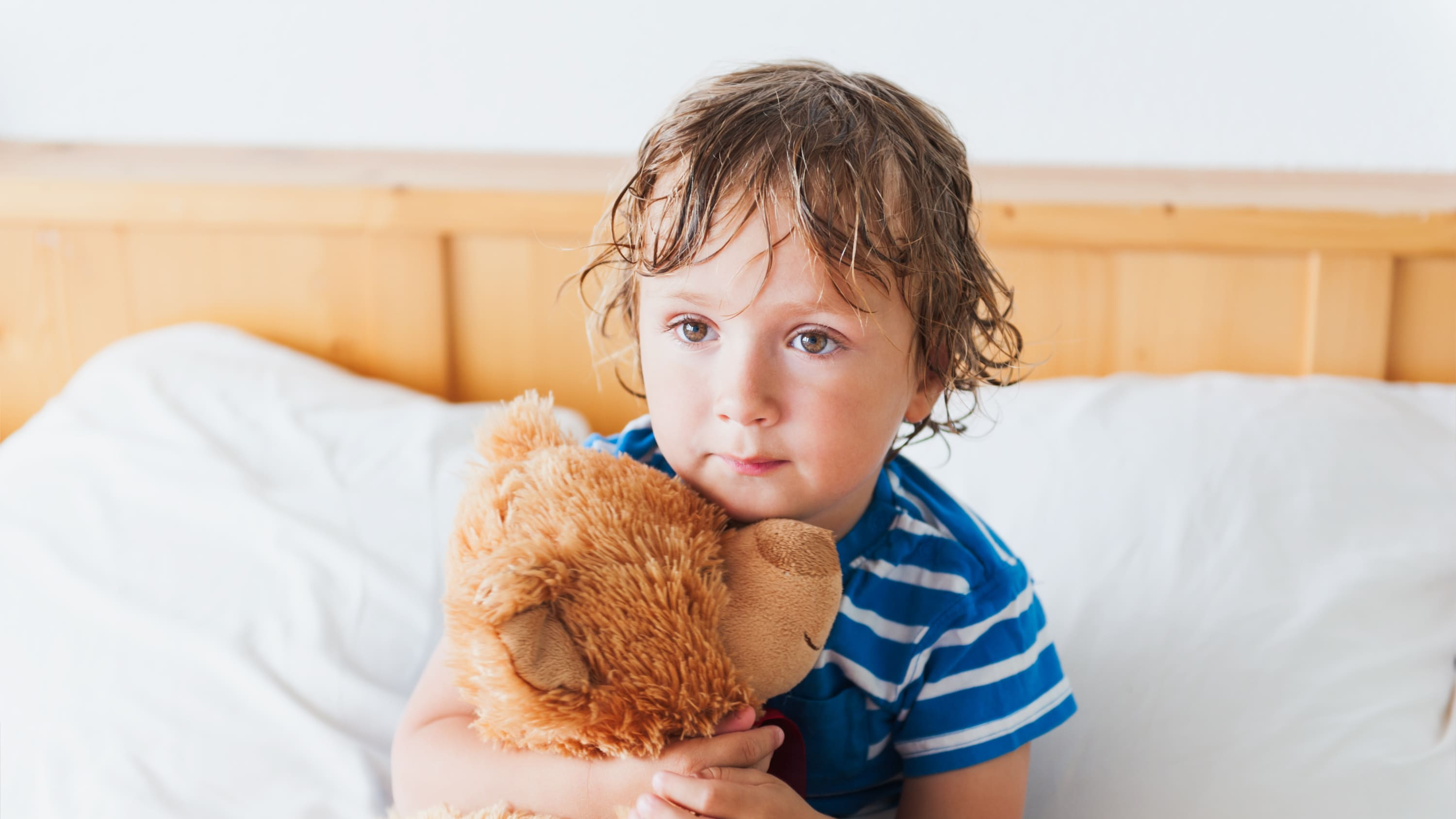 A child who may need care from a pediatric urology specialist.