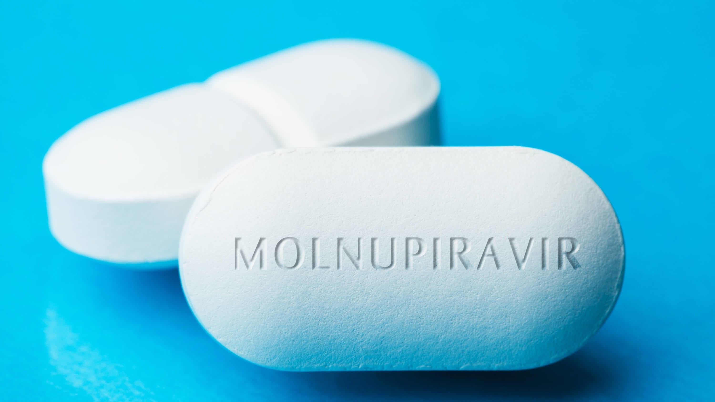 molnupiravir pill for COVID-19