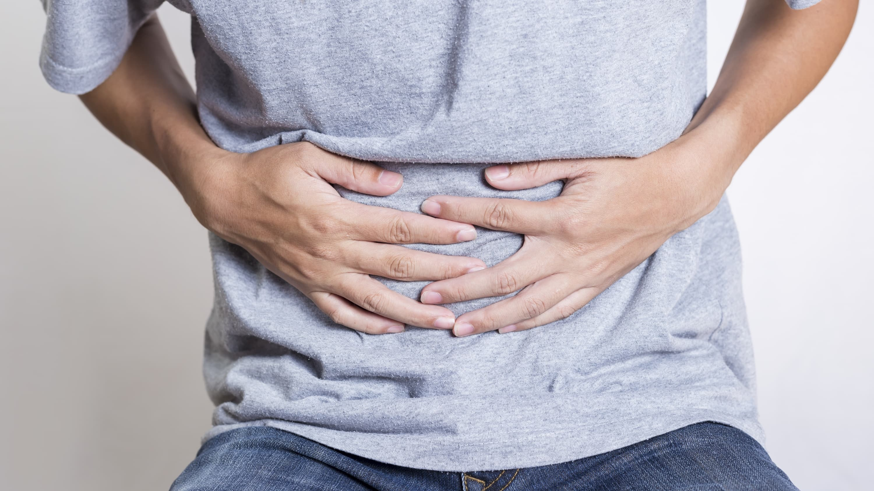 Man Stomach Ache, possibly from C. diff