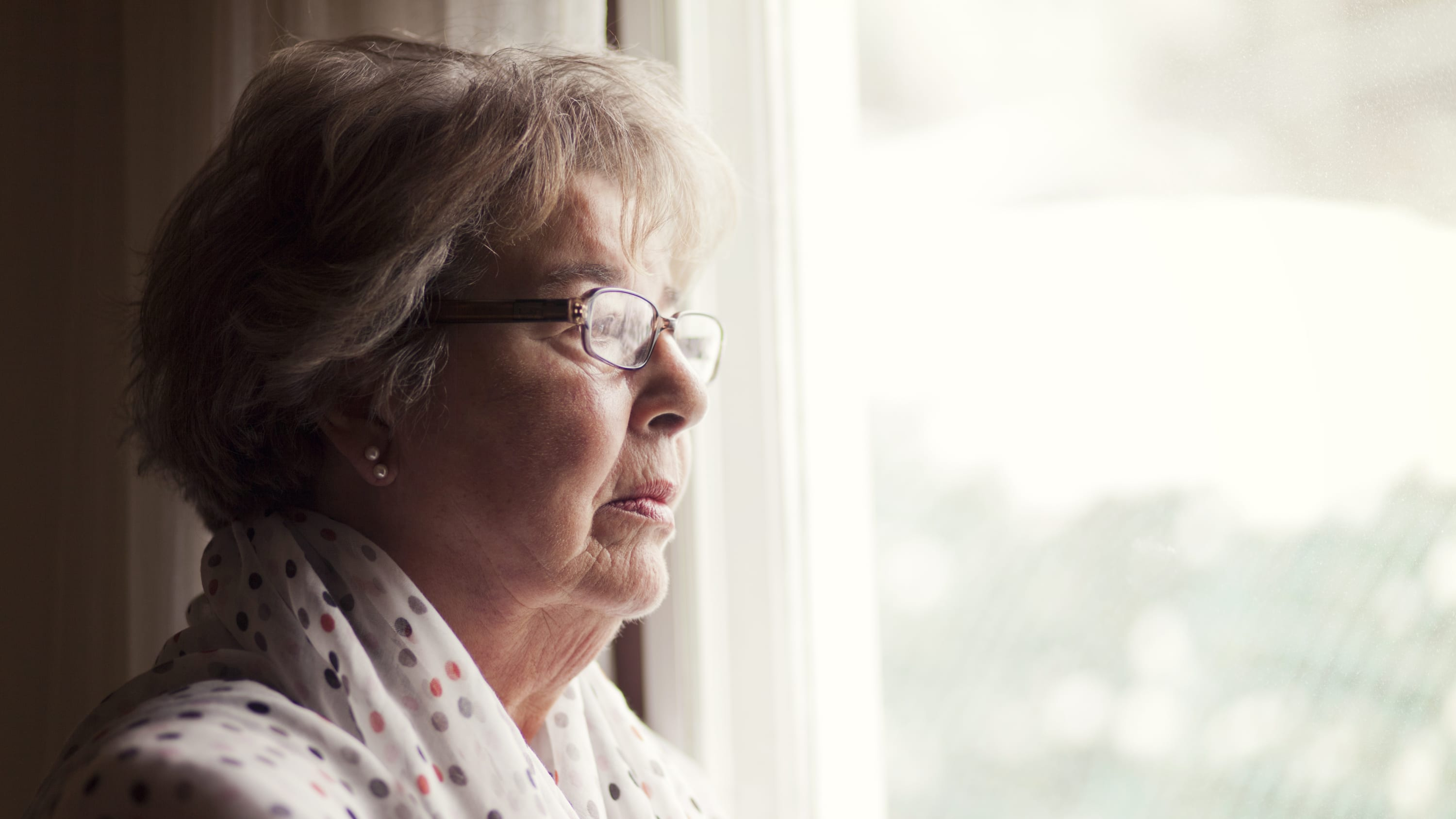 Depression Of A Senior Woman, possibly after a Lynch Syndrome diagnosis
