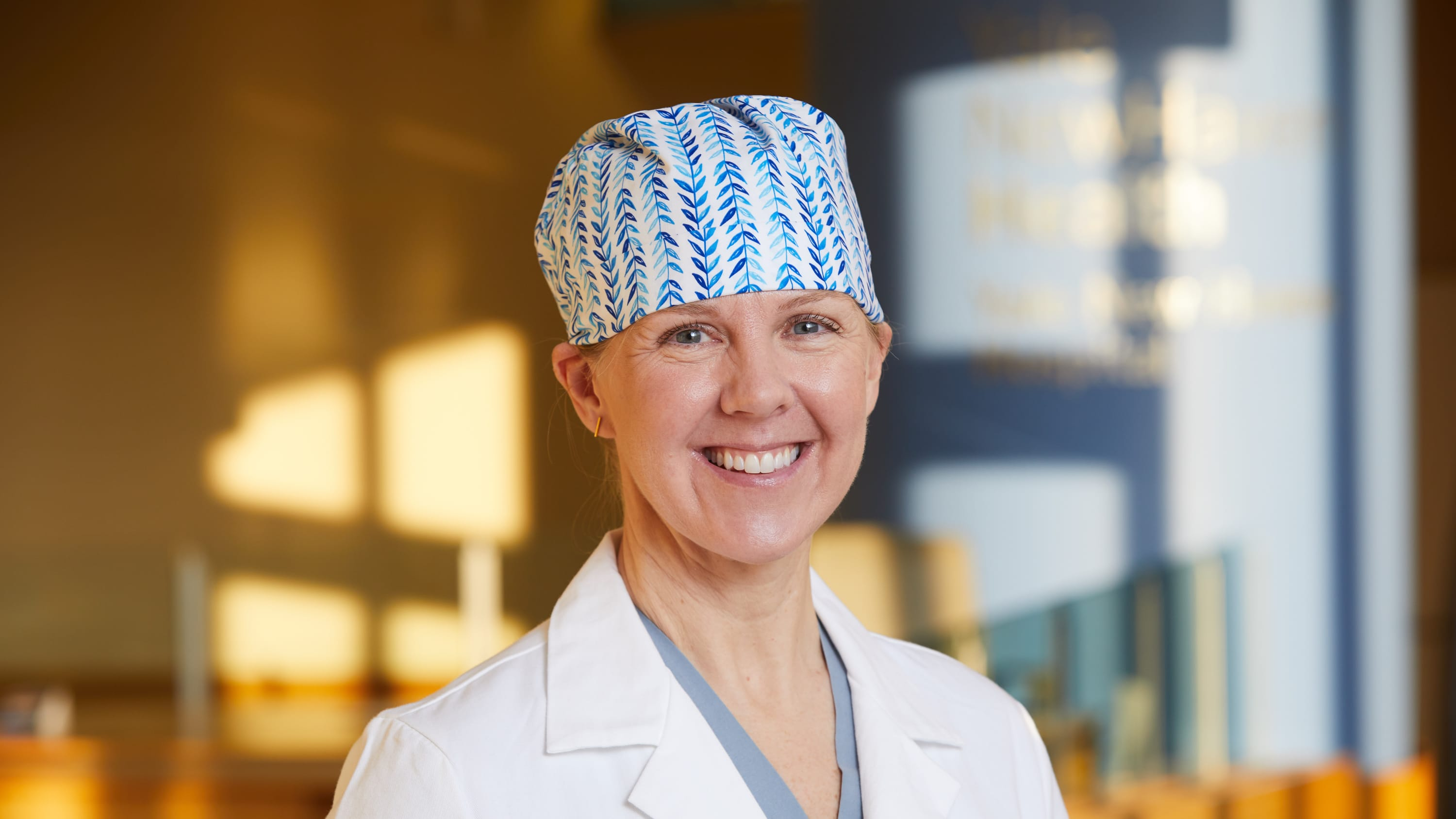 Portrait of cardiac surgeon Dr. Colleen Pietras