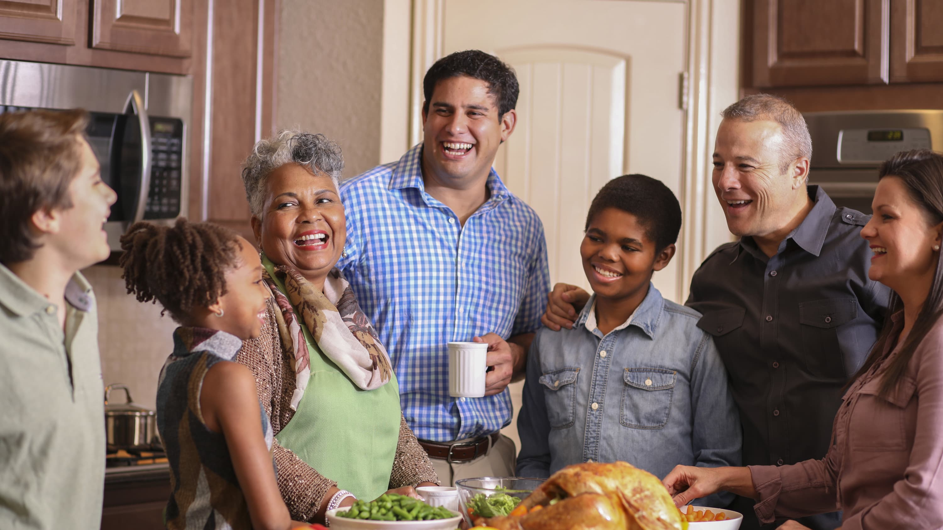 A family gathering, a good time to talk about inherited cancers