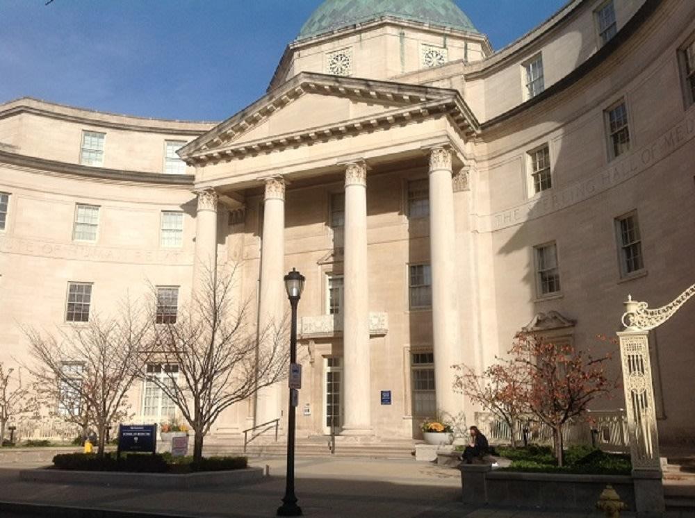 Yale School of Medicine entrance exterior