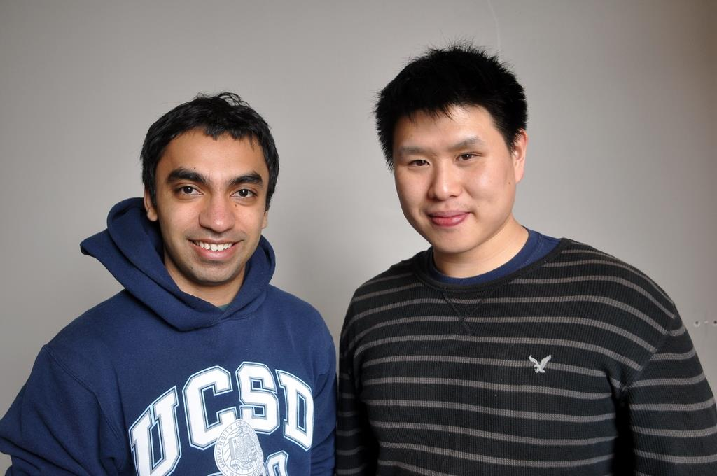 Keval Desai and Patrick Huang launched YSM Student Voices so classmates could learn more about one another.