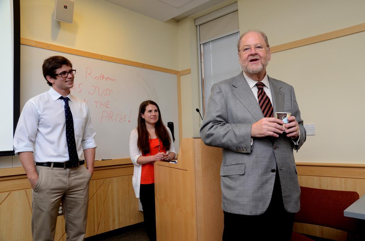 first-year medical students John Andrews, Alanna Kaplan, and James Rothman