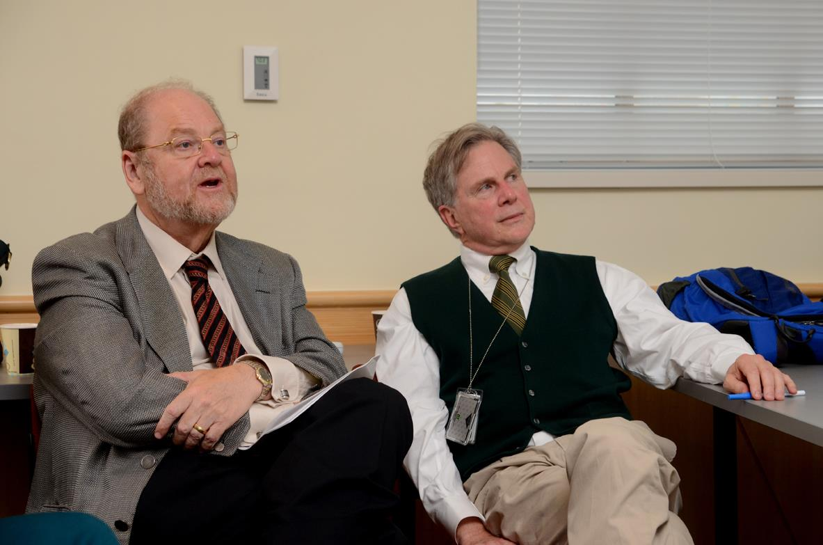 James Rothman and Fred Gorelick