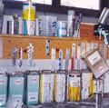 Many solvents are used in body shops.