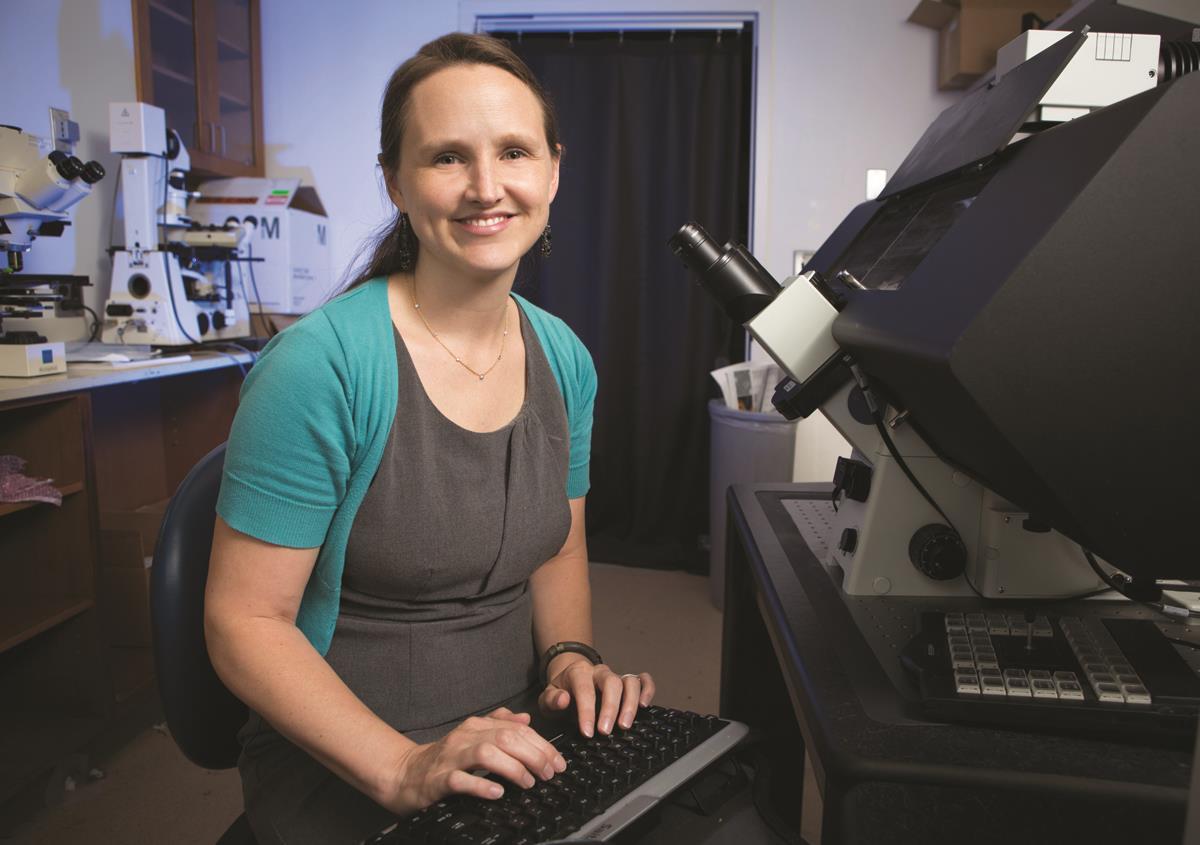 cell biologist Megan King