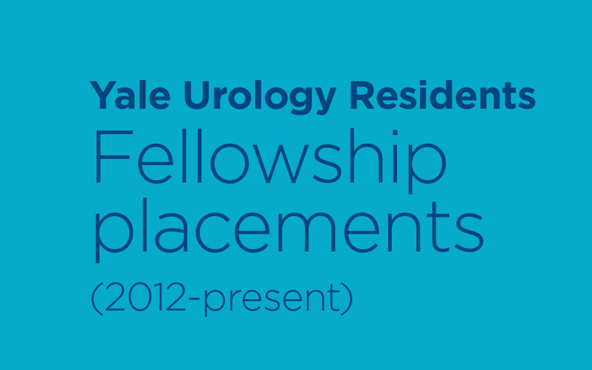 Recent resident placements into fellowships