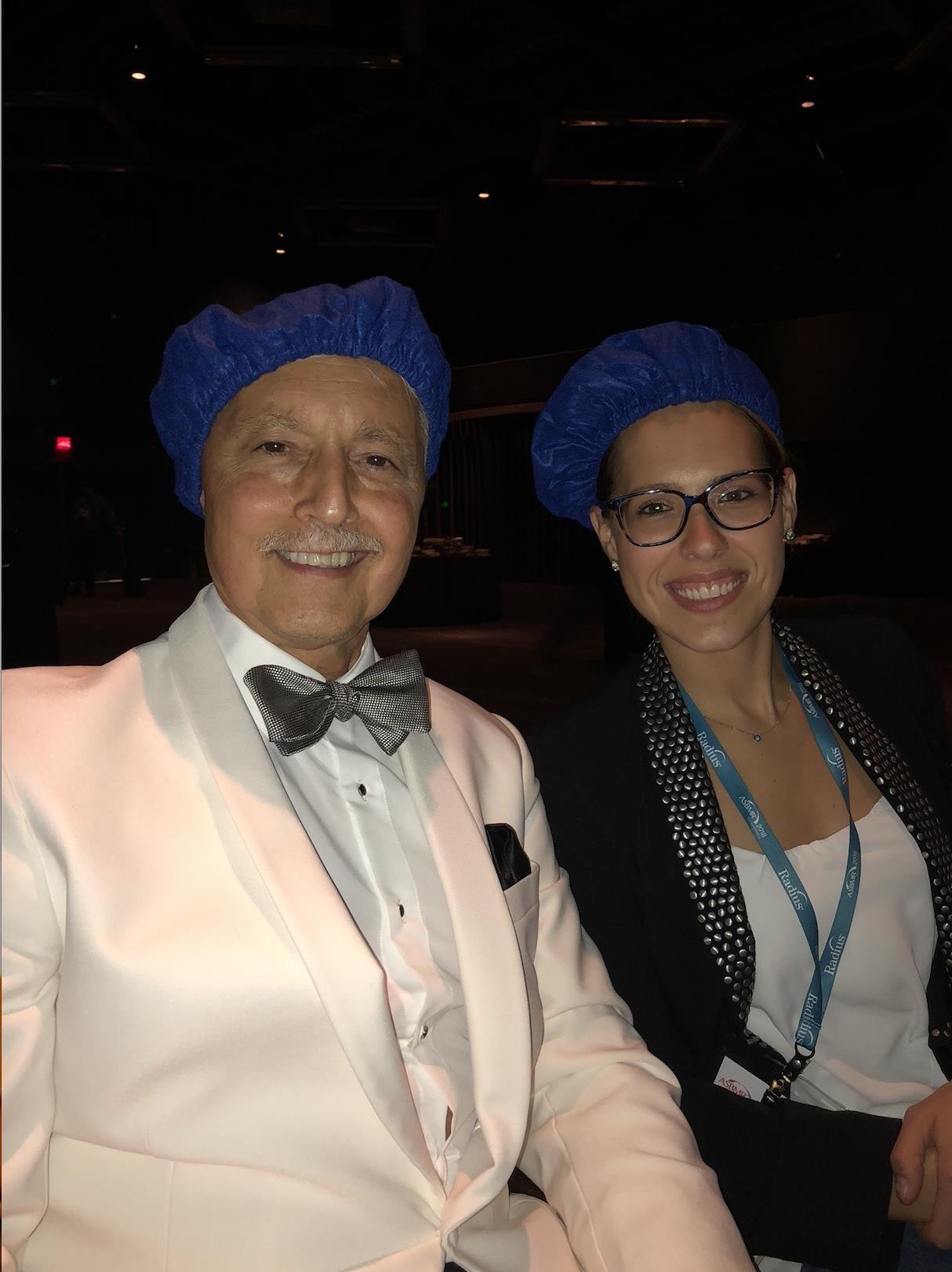 Karl Insogna and Joanne Walker
