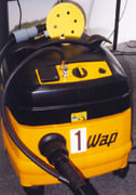 Vacuum sanders can greatly decrease dust in the shop.