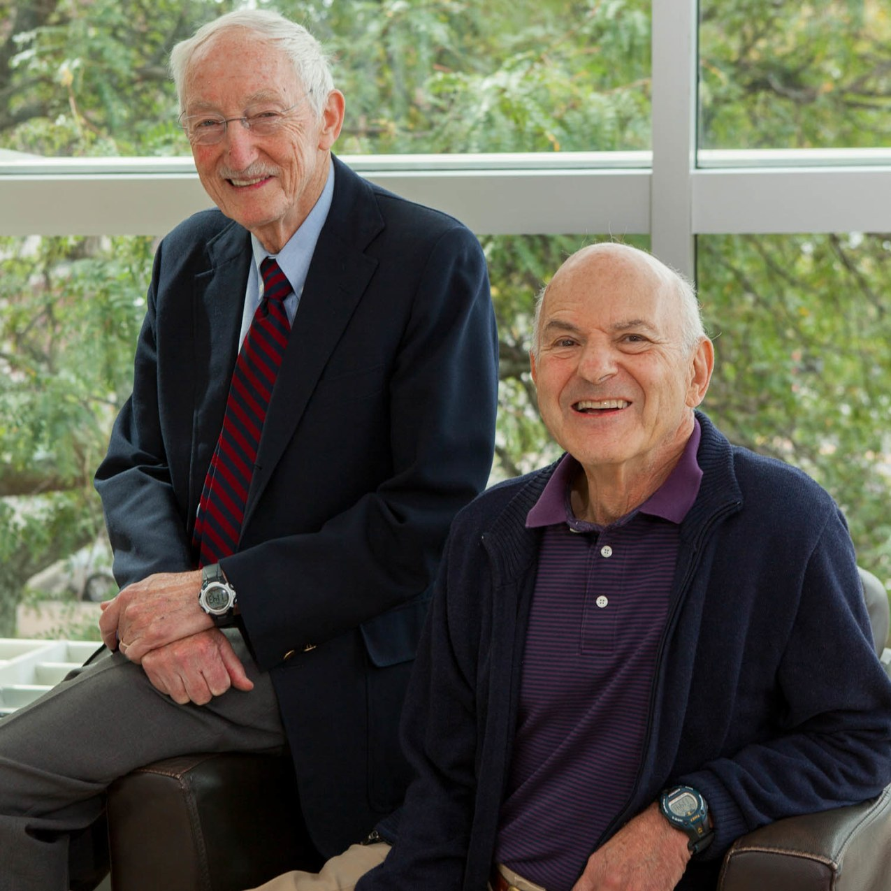 A Tribute to Drs. George Aghajanian and George Heninger
