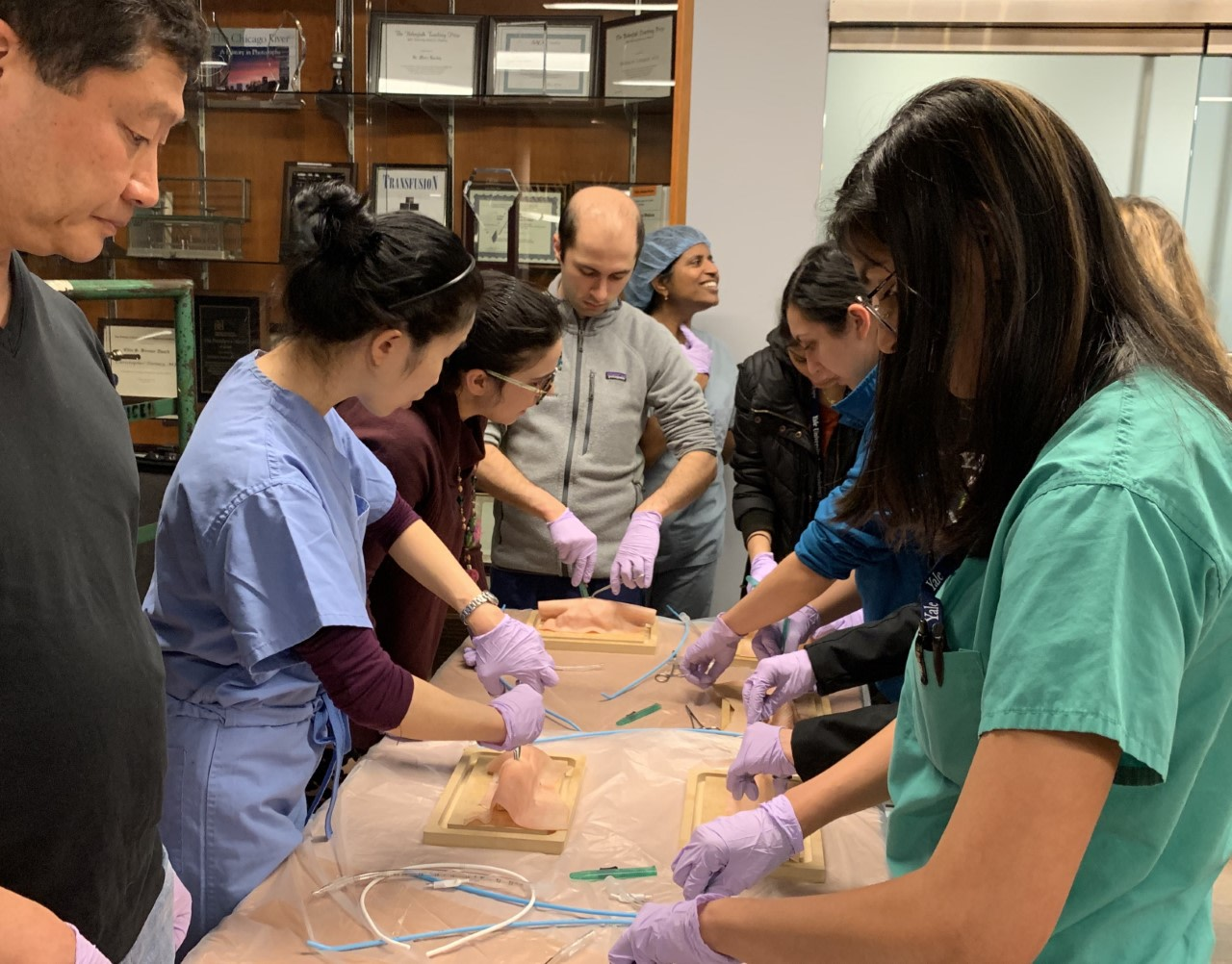 Attendance was more than 50 learners including our current residents, the PGY1s and several medical students.