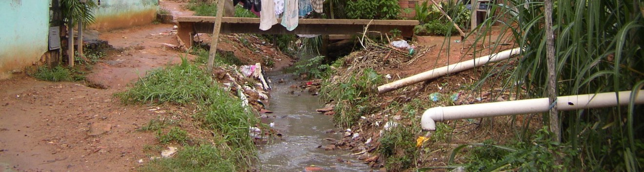 Urban slums and sanitation