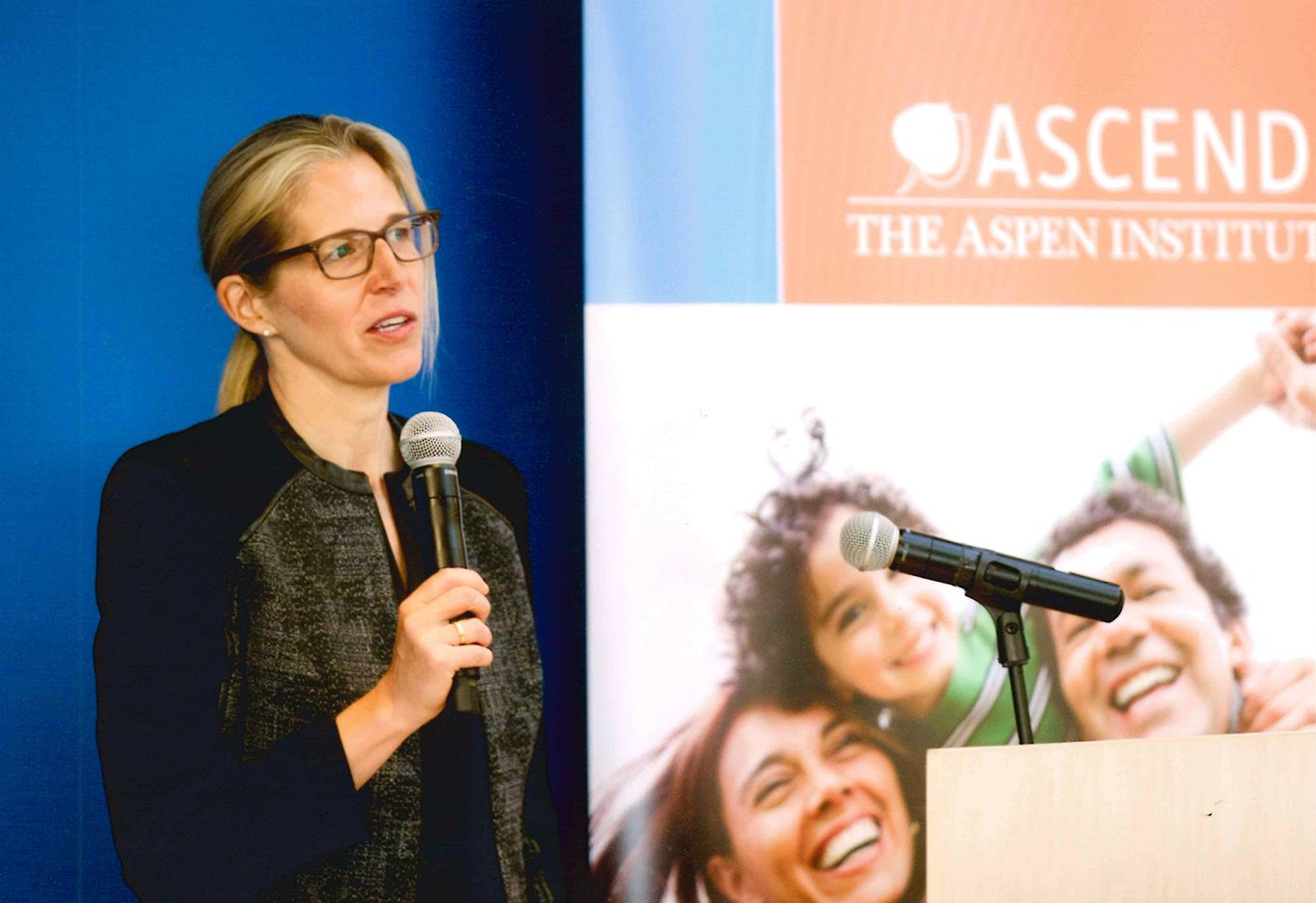 Dr. Smith addresses Ascend at the Aspen Institute event