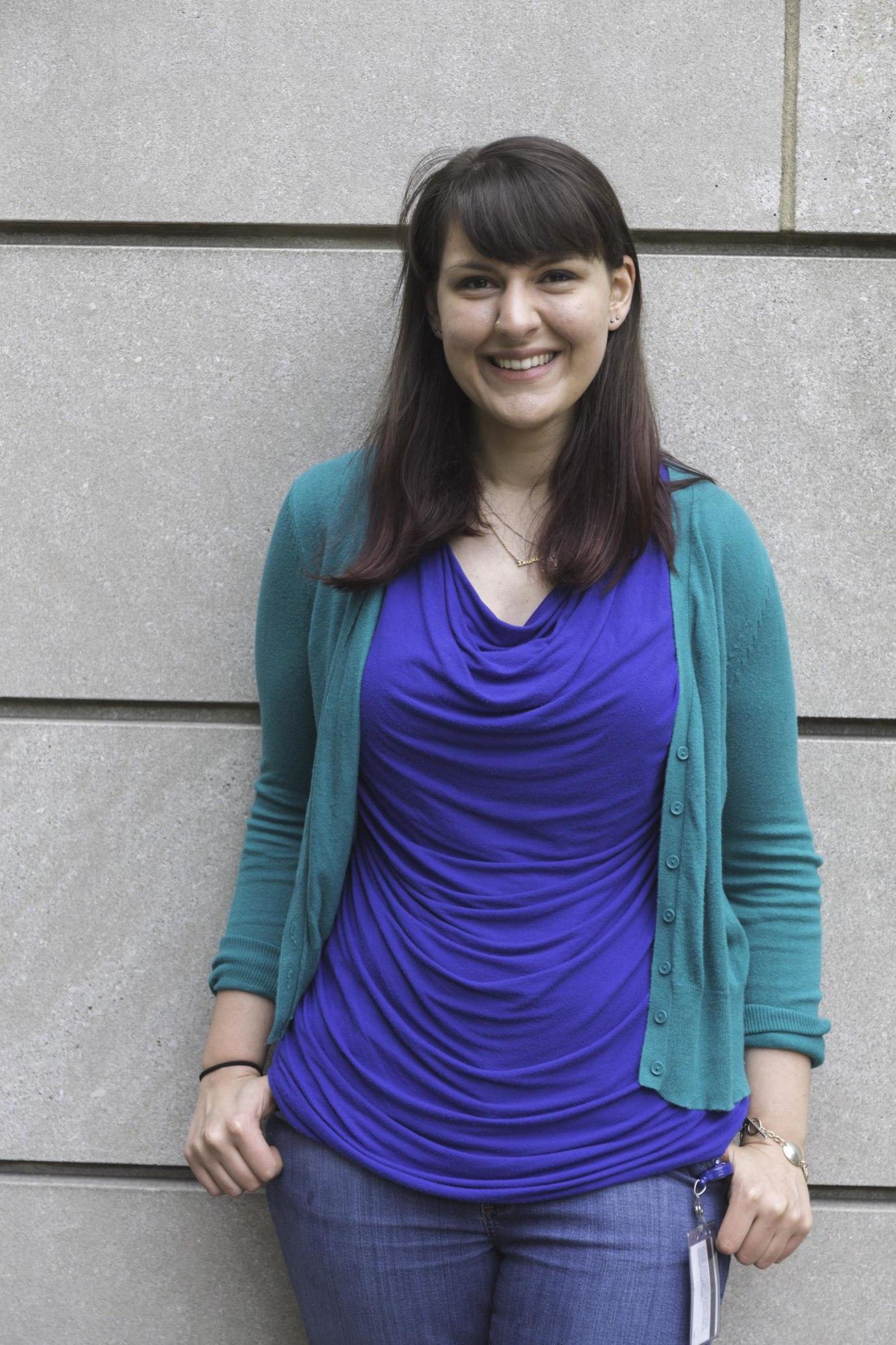 Caitlin Moss, Microbiology Track, Photo Credit: Folasade Kammen