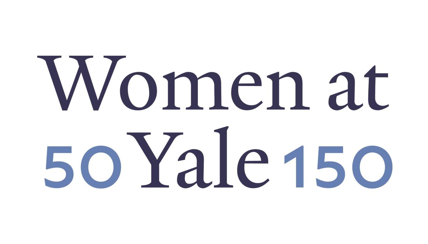 Women at Yale 50 150 Logo