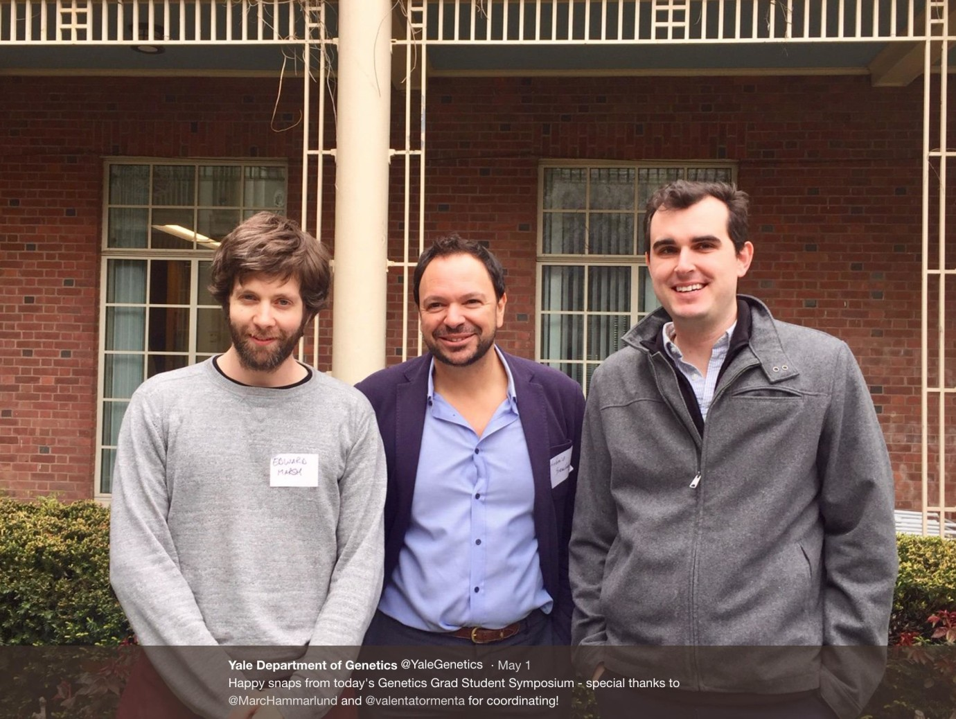 Yale Genetics Grad Student Symposium