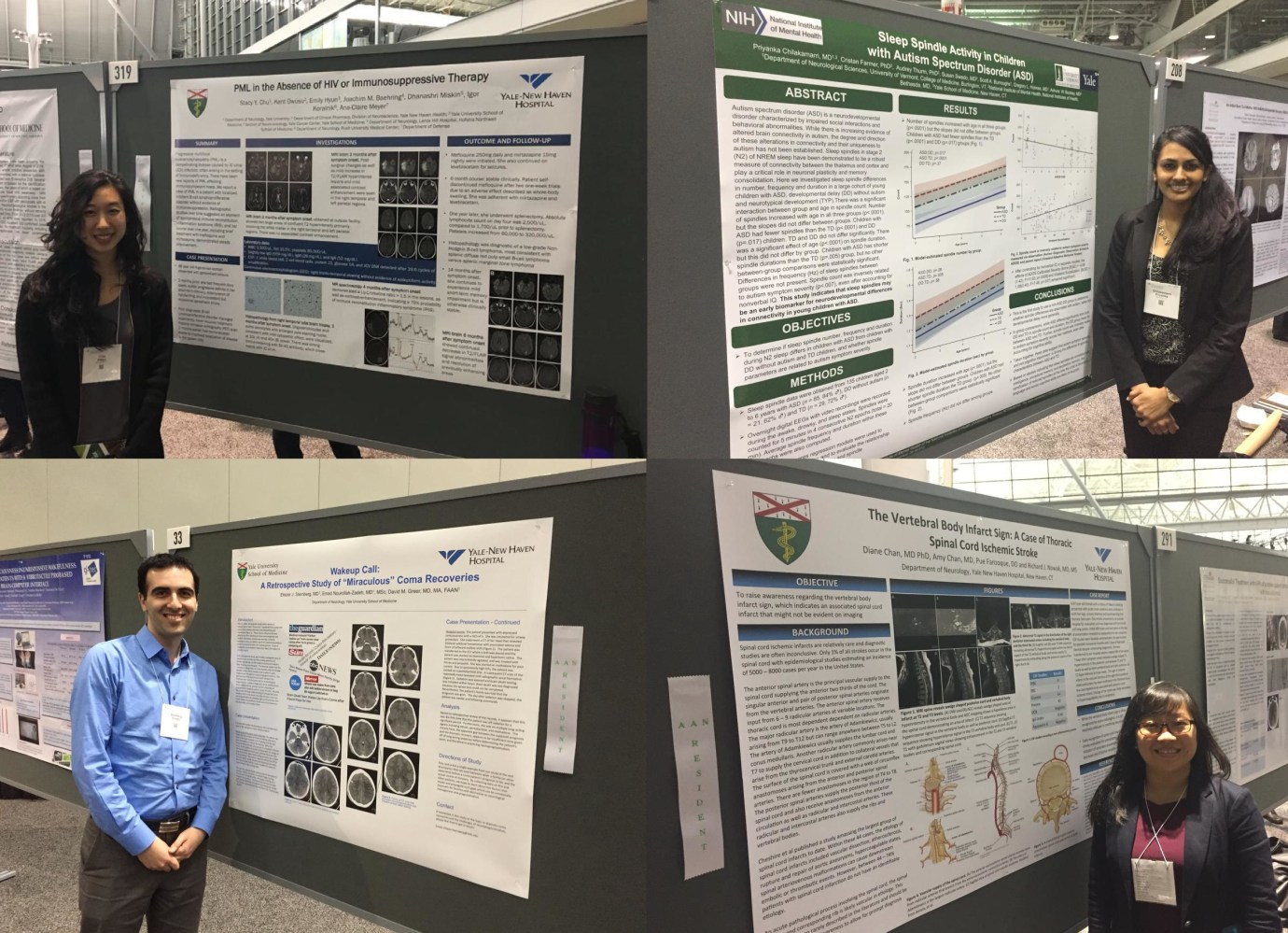 Poster Presentations at AAN Annual Meeting