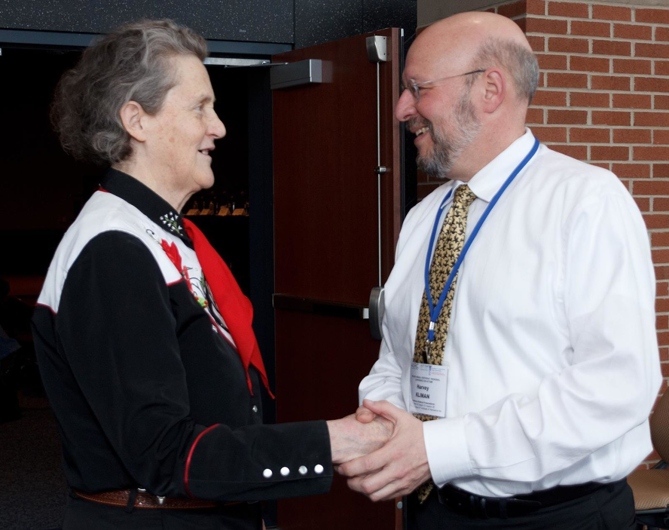 Temple Grandin and Harvey Kliman