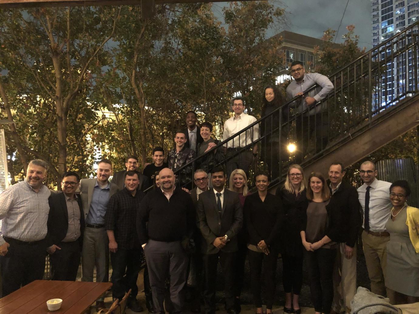 Yale Geriatric Psychiatry at annual Alumni Dinner