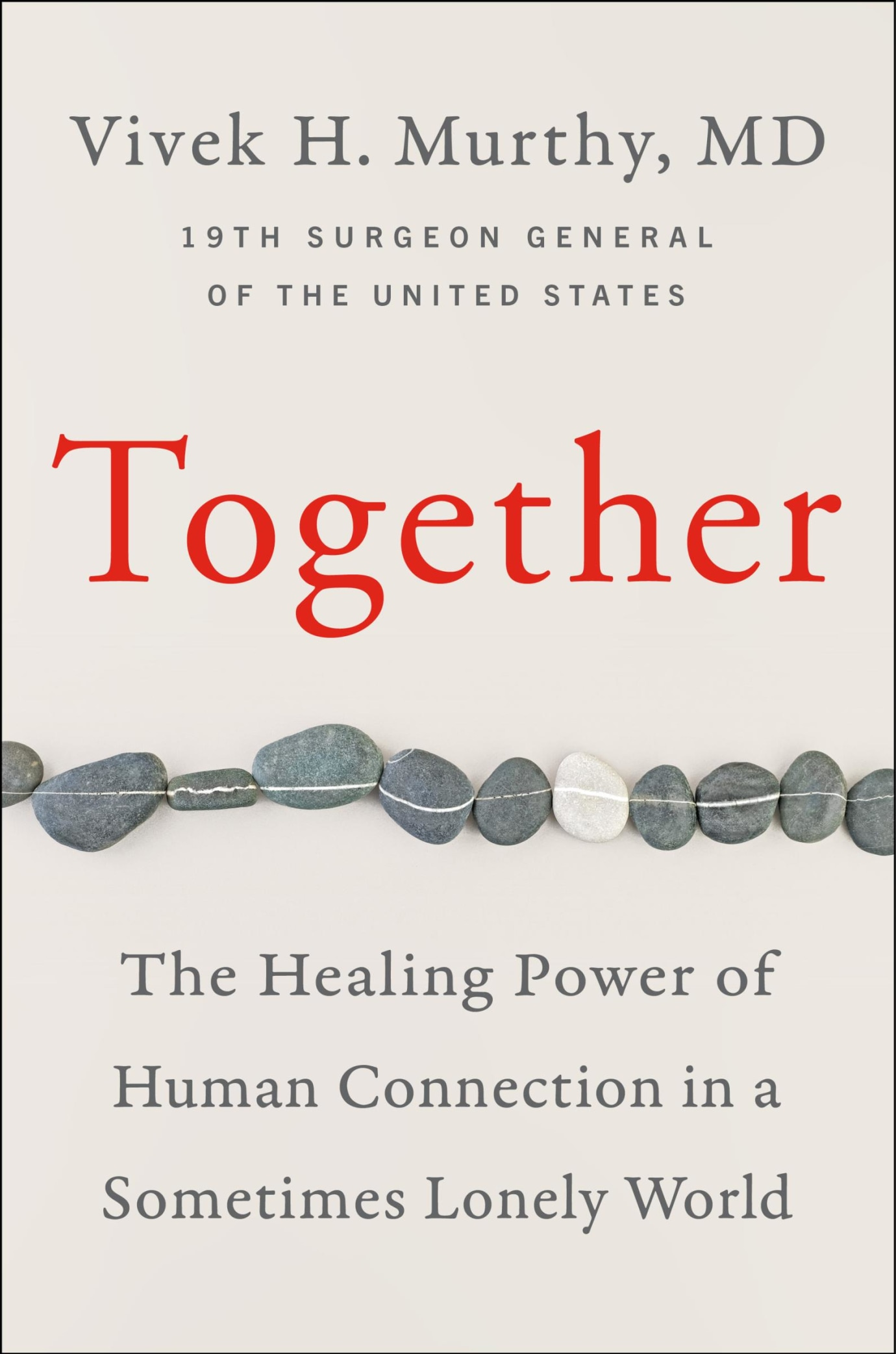 "Book cover: ""Together"" by Vivek Murthy"