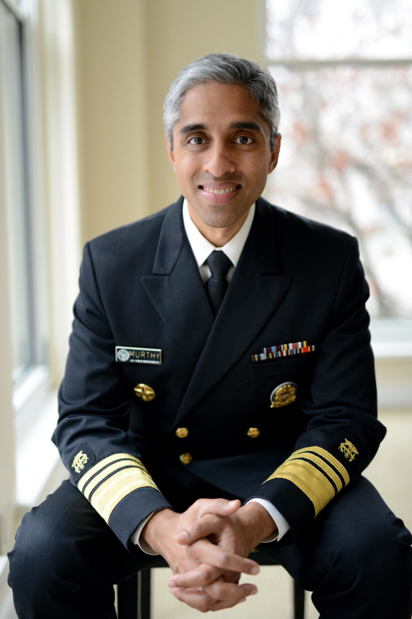 Portrait of Vivek Murthy, author of Together.