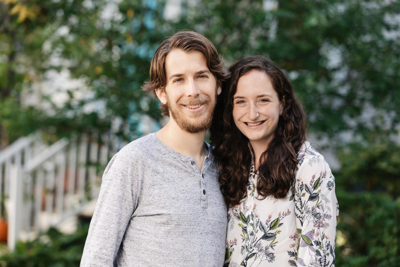 Daniel Barson and Abigail Greene