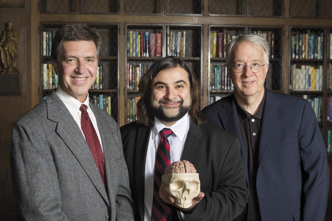 Stephen M. Strittmatter, Arash Salardini, and Chris van Dyck are leading the new Alzheimer's Disease Research Center.