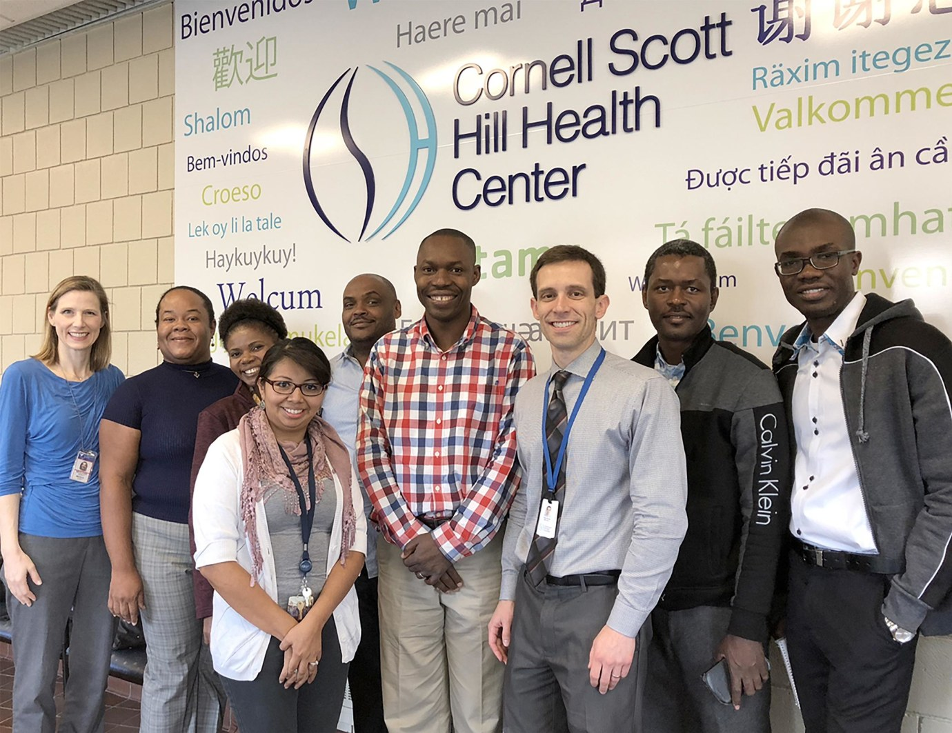 Doctors from Yale and Haiti collaborated and shared best practices during a weeklong visit to New Haven.