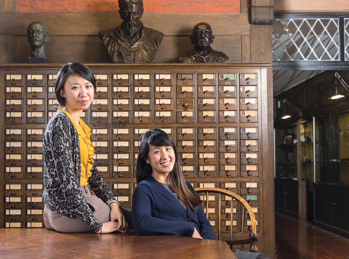Siyu Xiao and Kathleen Yan