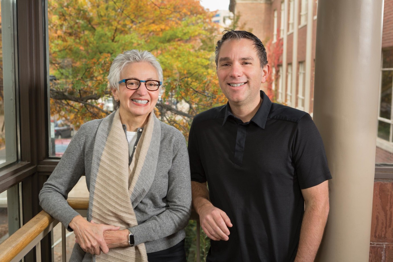 Women's Health Research at Yale, led since its founding by Carolyn Mazure (left), is a leader in building research knowledge of health issues as they relate to women. Ryan Jensen is investigating gene mutations' varied effects on breast cancer.
