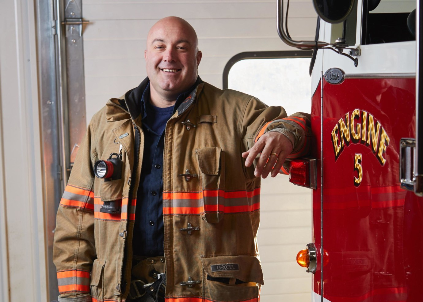 John, a firefighter and type 2 diabetic, enrolled in a research study to observe glucose levels in the brain relative to in the blood.