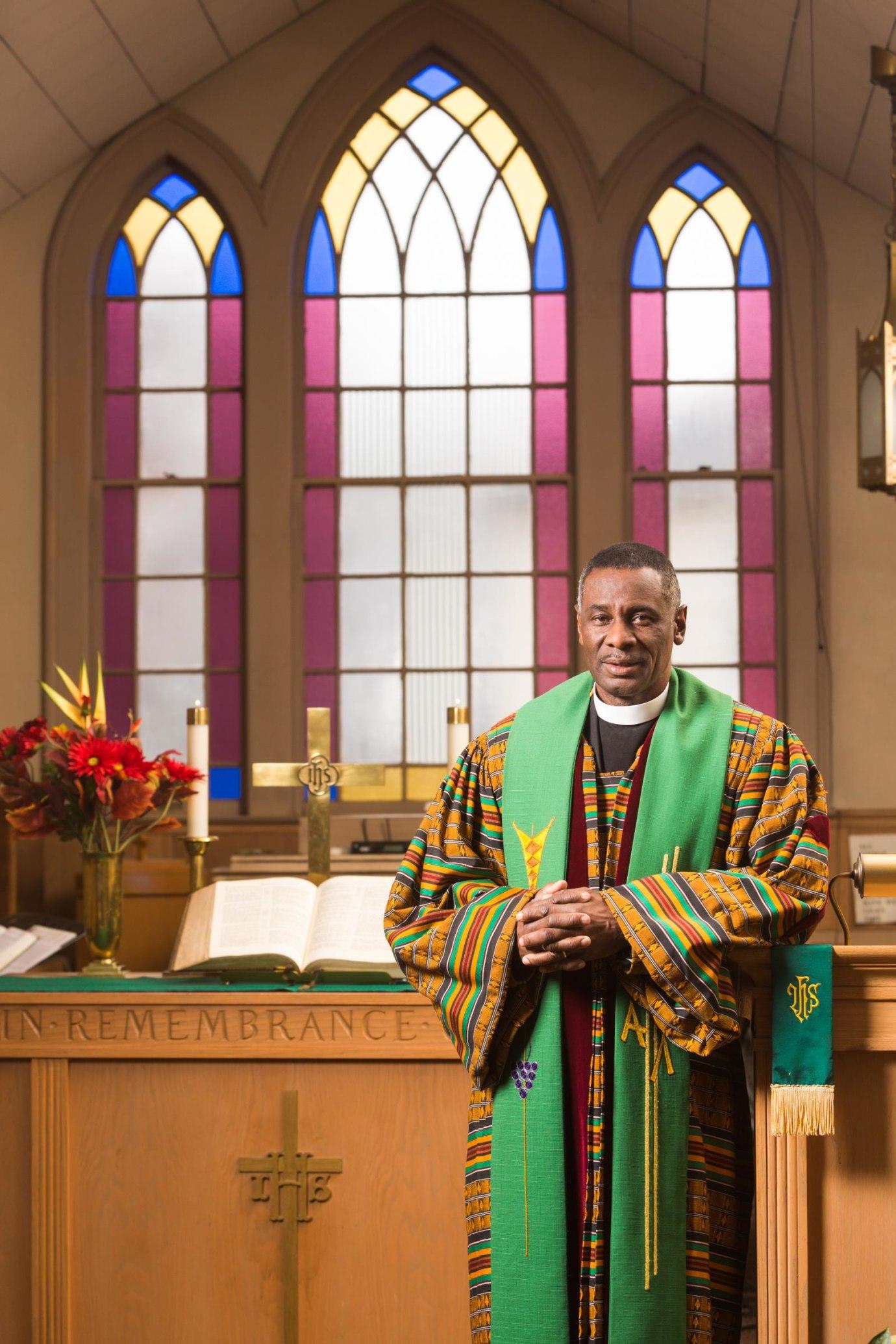 Reverend Elvin Clayton