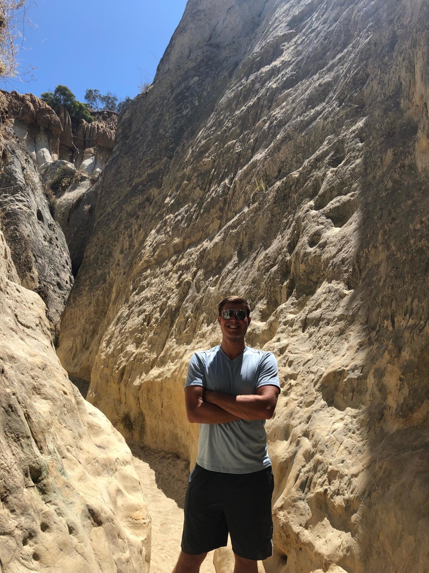 Nick hiking