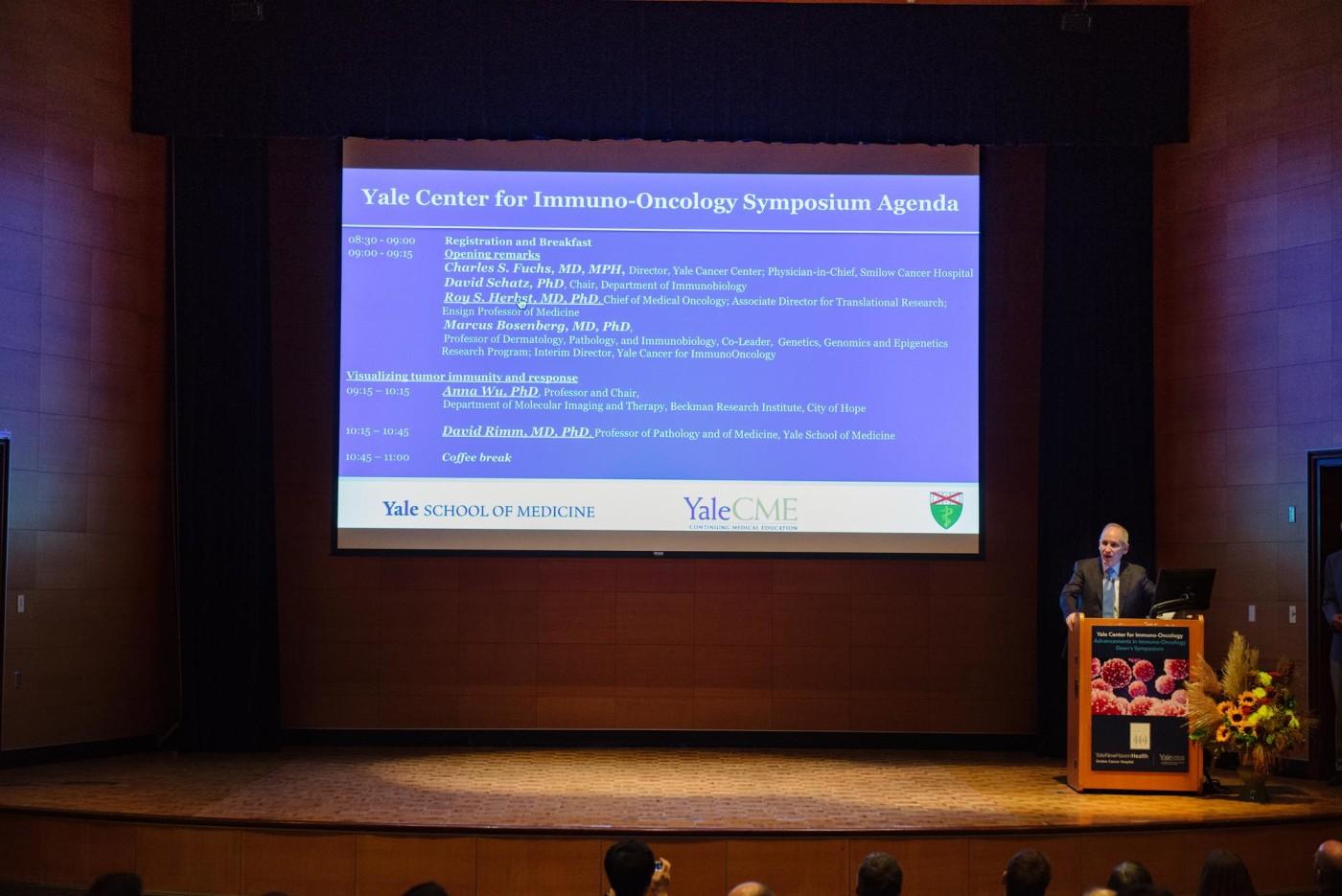 Immuno Onc agenda slide