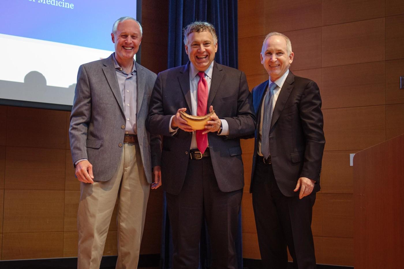 David Schatz, Roy Herbst and Charles Fuchs on stage