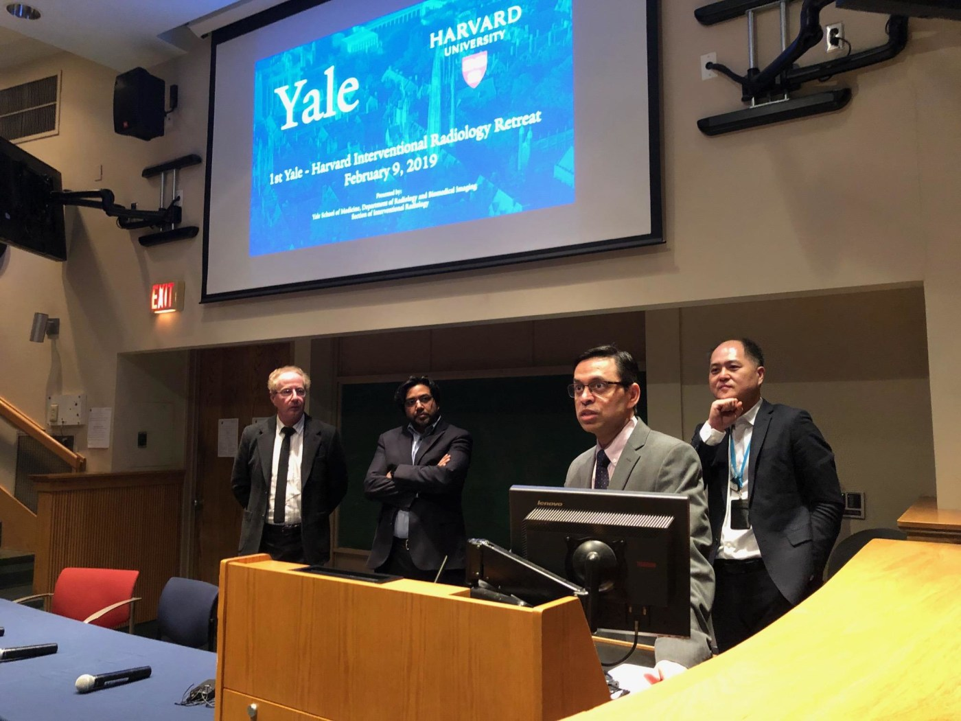 1st Yale Harvard IR Retreat 2019