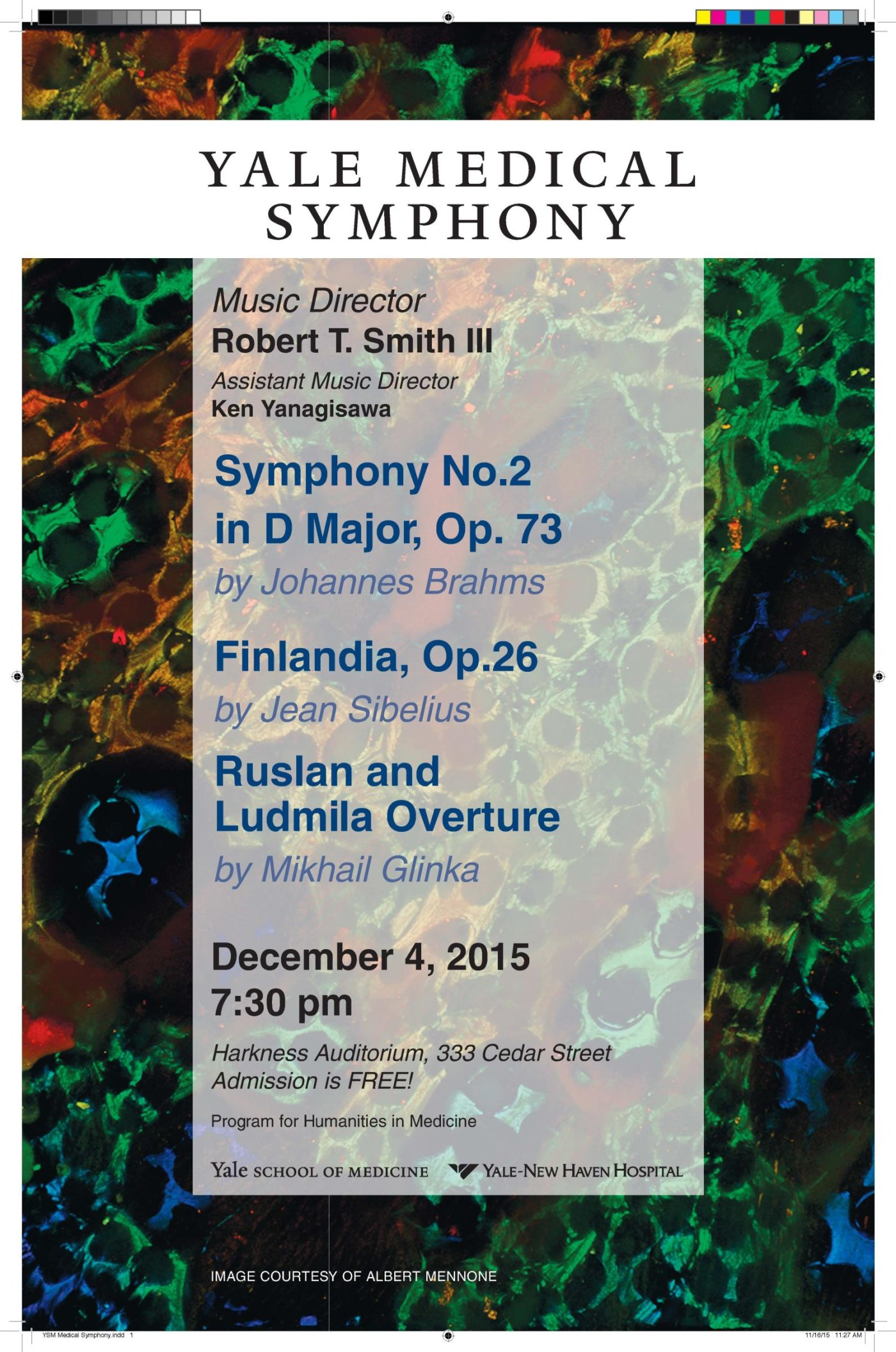 Yale Medical Symphony: Winter 2015