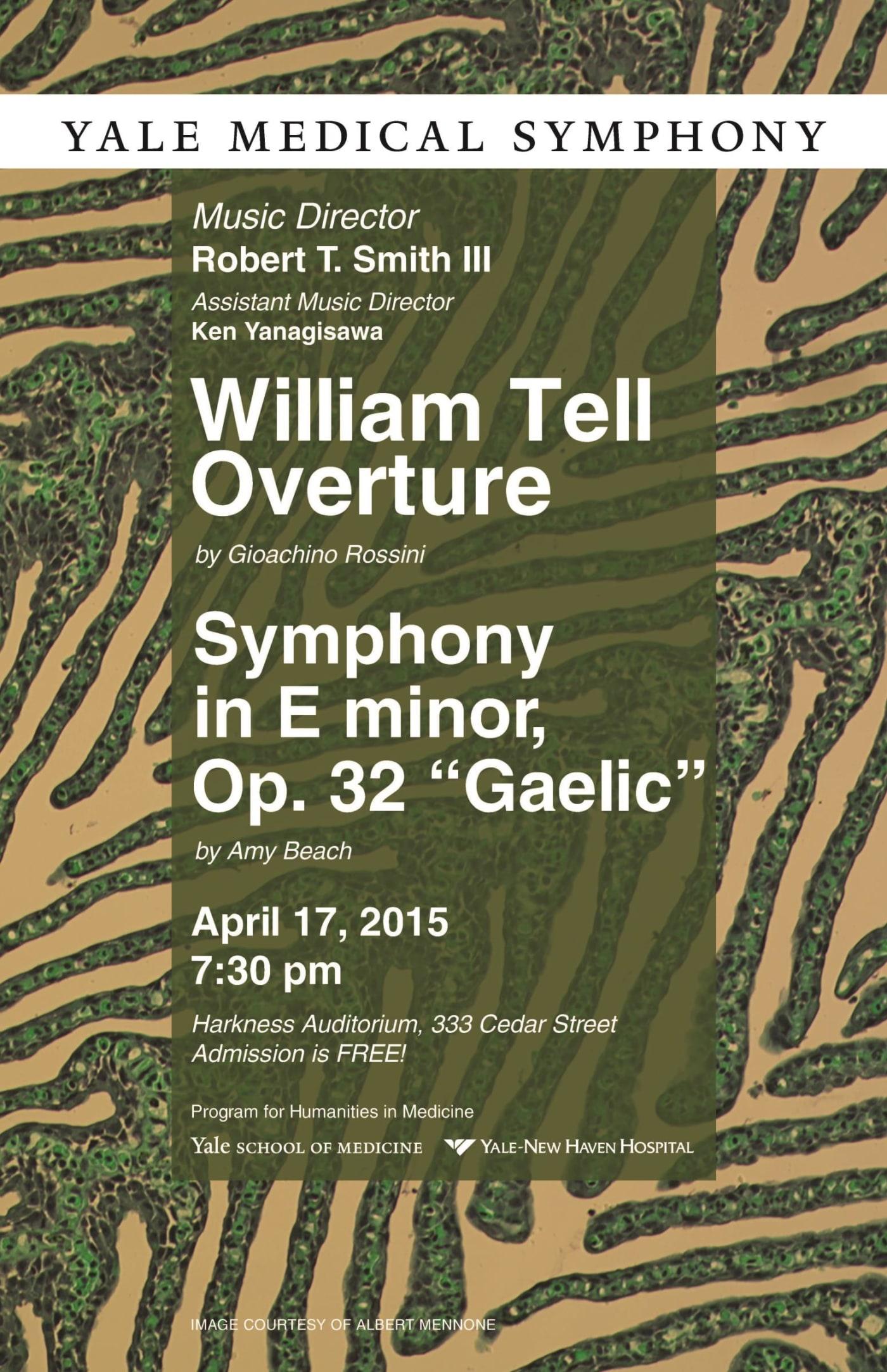 Yale Medical Symphony: Spring 2015